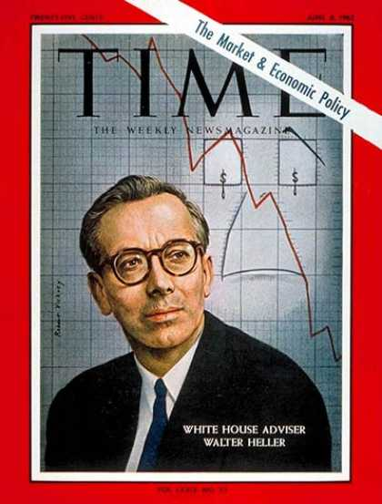 Time - Walter W. Heller - June 8, 1962 - Economy