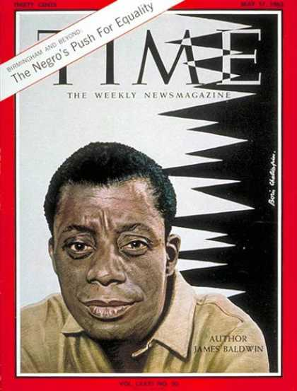 Time - James Baldwin - May 17, 1963 - Civil Rights - Books