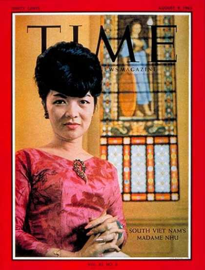 Time - Mme. Ngo Dinh Nhu - Aug. 9, 1963 - Vietnam