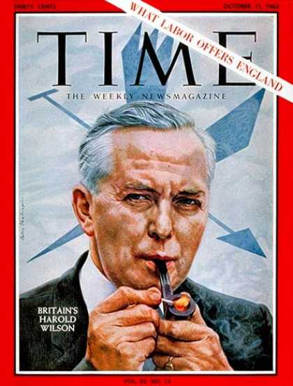 Time - Harold Wilson - Oct. 11, 1963 - Great Britain