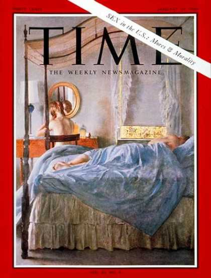 Time - Sex in the U.S. - Jan. 24, 1964 - Sex - Society