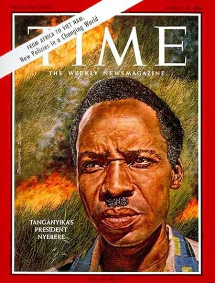 Time - Julius Nyerere - Mar. 13, 1964 - Africa