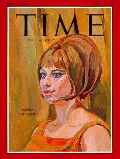 Time - Barbara Streisand - Apr. 10, 1964 - Singers - Actresses - Movies - Music
