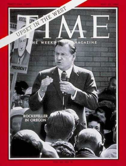 Time - Nelson Rockefeller - May 22, 1964 - Presidential Elections - Politics