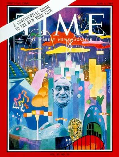 Time - New York World's Fair - June 5, 1964 - New York