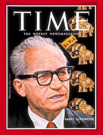 Time - Barry Goldwater - June 12, 1964 - Civil Rights