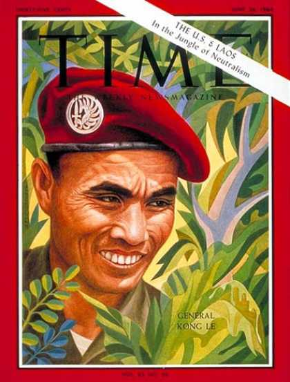 Time - General Kong Le - June 26, 1964 - Laos - Generals