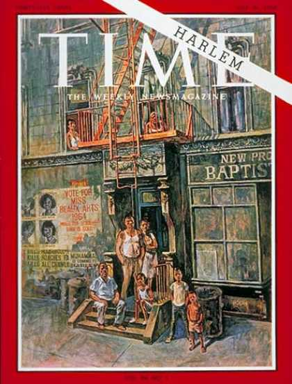 Time - Harlem - July 31, 1964 - Cities - New York - Most Popular