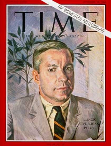 Time - Charles H. Percy - Sep. 18, 1964 - Politics