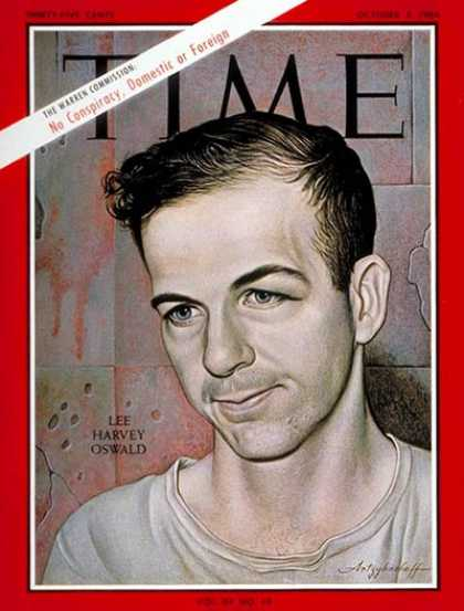 Time - Lee Harvey Oswald - Oct. 2, 1964 - Kennedy Assassination