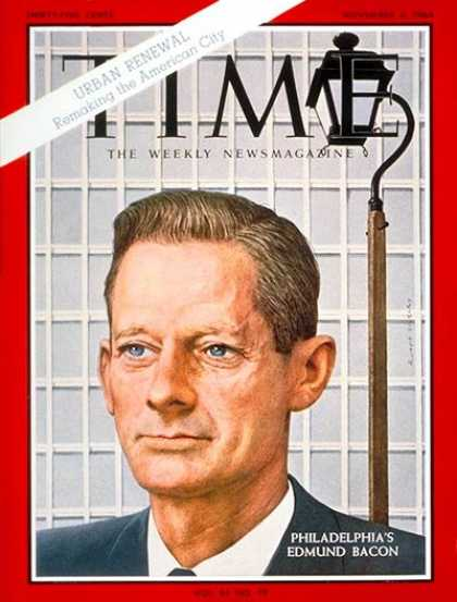 Time - Edmund N. Bacon - Nov. 6, 1964 - Politics