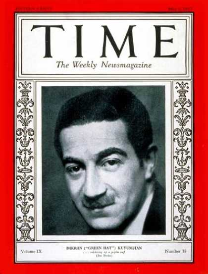 Time - Michael Arlen - May 2, 1927 - Books