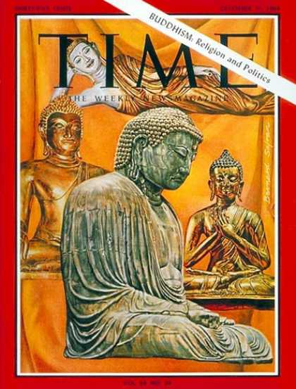 Time - Buddhism - Dec. 11, 1964 - Religion - Politics