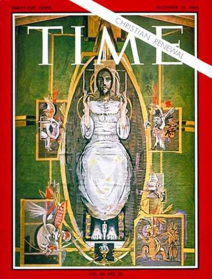 Time - Christian Renewal - Dec. 25, 1964 - Jesus - Religion - Christianity