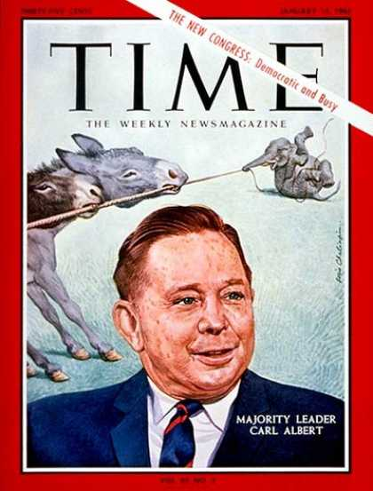 Time - Carl Albert - Jan. 15, 1965 - Congress - Politics