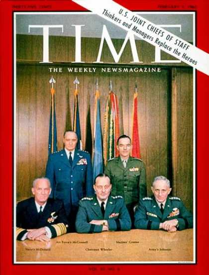 Time - The Joint Chiefs - Feb. 5, 1965 - Military