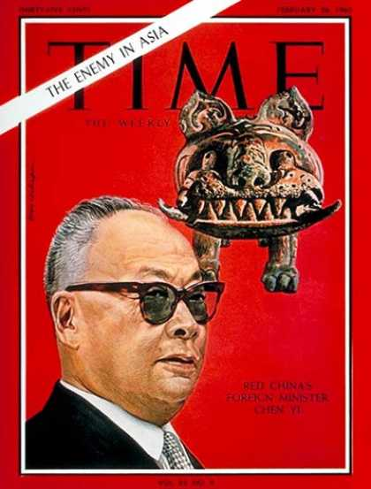Time - Marshall Chen Yi - Feb. 26, 1965 - China - Communism