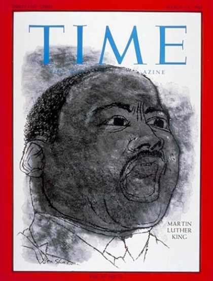 Time - Martin Luther King - Mar. 19, 1965 - Civil Rights - Blacks - Race