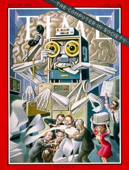 Time - Computer in Society - Apr. 2, 1965 - Science & Technology - Business - Computers