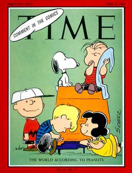 Time - The World According to Peanuts - Apr. 9, 1965 - Most Popular