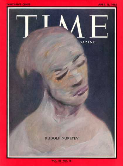 Time - Rudolph Nureyev - Apr. 16, 1965 - Dance - Ballet