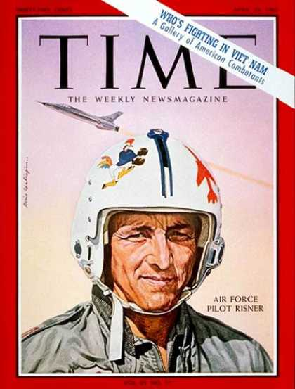 Time - Robbie Risner - Apr. 23, 1965 - Vietnam War - Air Force - Military - Vietnam