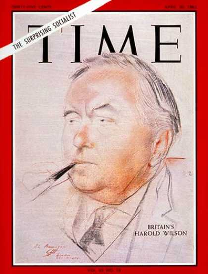 Time - Harold Wilson - Apr. 30, 1965 - Great Britain - Prime Ministers