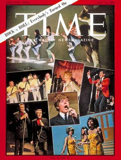 Time - Rock 'n' Roll - May 21, 1965 - Rock - Popular Culture - Music