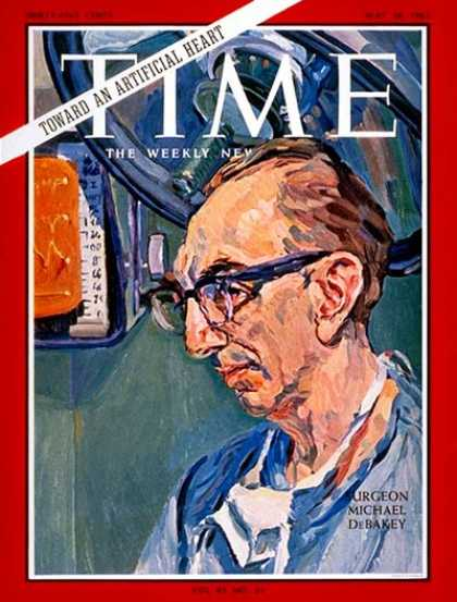 Time - Dr. Michael DeBakey - May 28, 1965 - Health & Medicine