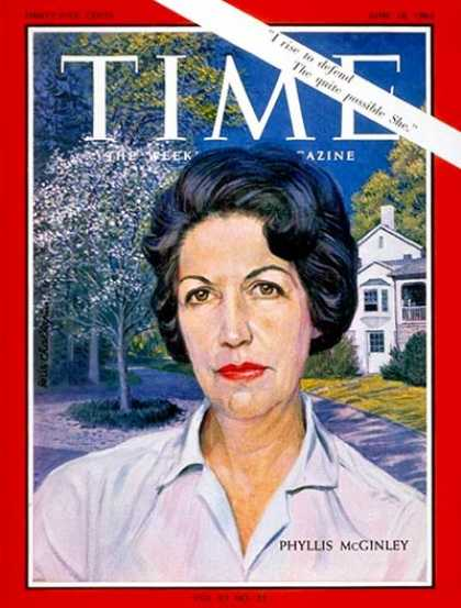 Time - Phyllis McGinley - June 18, 1965 - Women