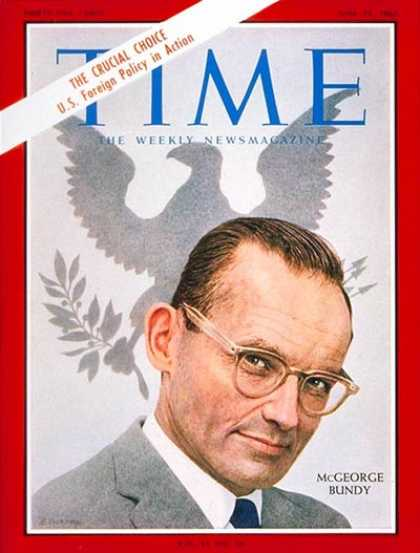 Time - McGeorge Bundy - June 25, 1965 - Politics