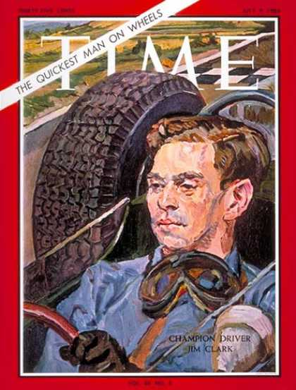 Time - Jim Clark - July 9, 1965 - Auto Racing - Sports