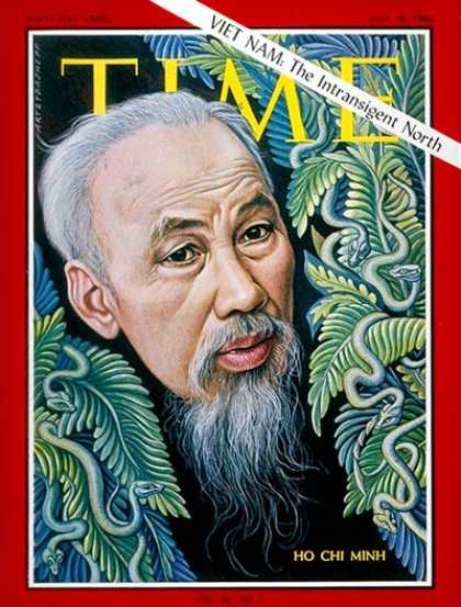 Time - Ho Chi Minh - July 16, 1965 - Vietnam War - Vietnam