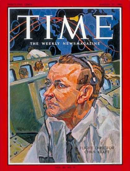 Time - Chris Kraft - Aug. 27, 1965 - NASA - Space Exploration