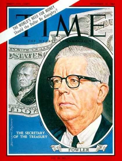 Time - Henry H. Fowler - Sep. 10, 1965 - Politics