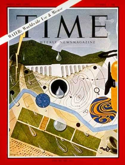 Time - Water - Oct. 1, 1965 - Conservation - Environment
