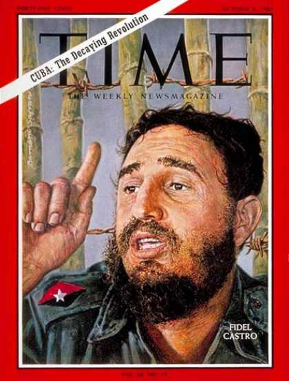 Time - Fidel Castro - Oct. 8, 1965 - Cuba - Communism - Latin America