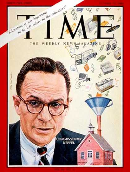 Time - Francis Keppel - Oct. 15, 1965 - Education - Politics