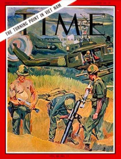 Time - Vietnam War - Oct. 22, 1965 - Vietnam