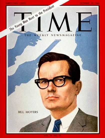Time - Bill D. Moyers - Oct. 29, 1965 - Politics