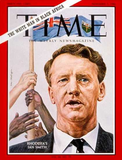 Time - Ian Smith - Nov. 5, 1965 - Rhodesia