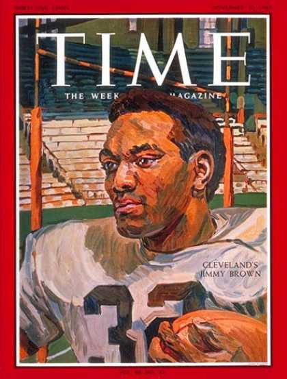 Time - Jimmy Brown - Nov. 26, 1965 - Football - Most Popular - Sports