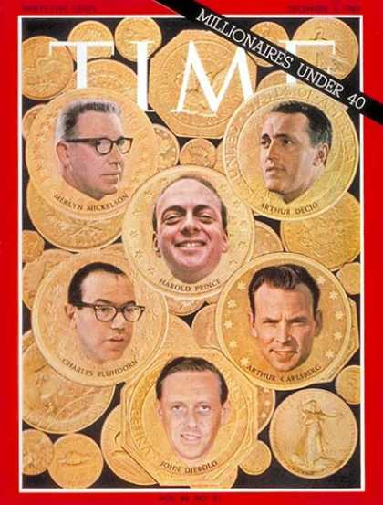 Time - Millionaires Under 40 - Dec. 3, 1965 - Business - Money - Society