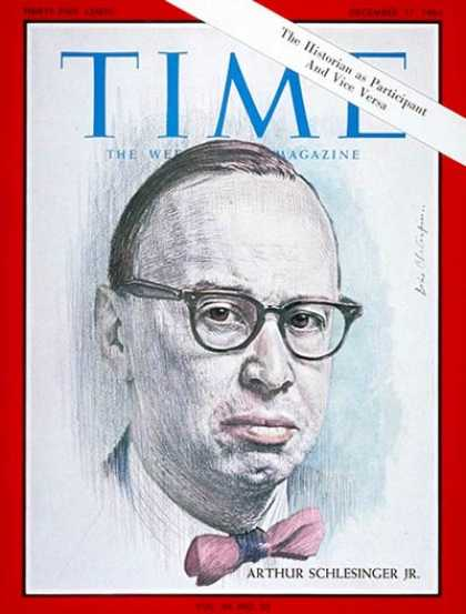 Time - Arthur Schlesinger Jr. - Dec. 17, 1965 - History - Books