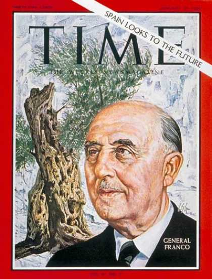 Time - General Franco - Jan. 21, 1966 - Francisco Franco - Spain - Military - World War