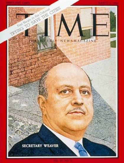 Time - Robert C. Weaver - Mar. 4, 1966 - Cities - Blacks
