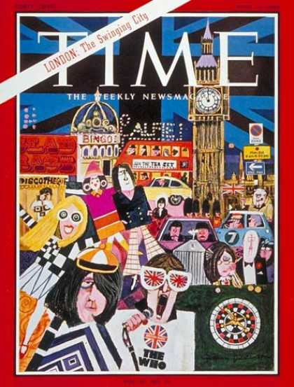 Time - London - Apr. 15, 1966 - Great Britain