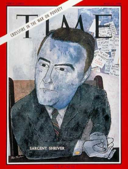 Time - Sargent Shriver - May 13, 1966 - Poverty - Society