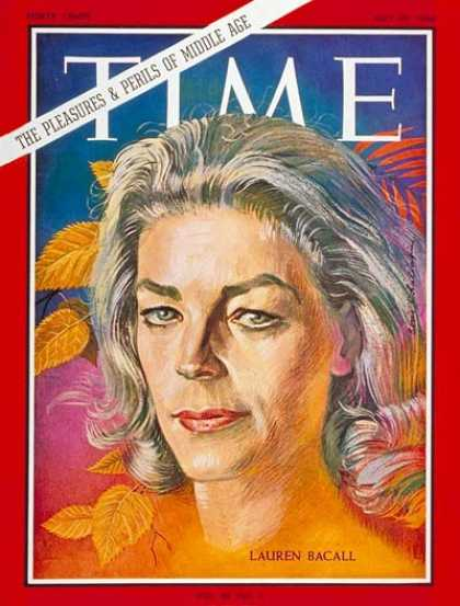 Time - Lauren Bacall - July 29, 1966 - Actresses - Movies