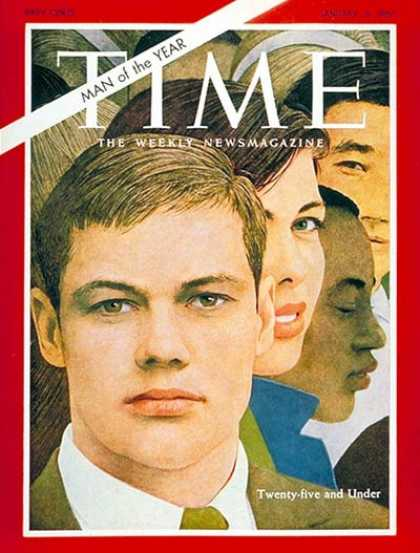 Time - Twenty-Five and Under, Man of the Year - Jan. 6, 1967 - Person of the Year - Soc